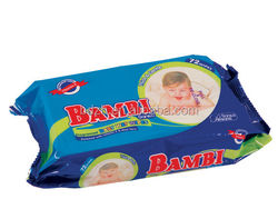 High quality custom printing wet wipes packing material