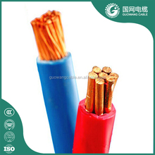 Pvc insulated electric cable 1.5mm 2.5mm 4mm 6mm