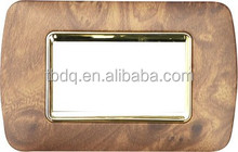 HOT selling wooden switch plate outlet cover