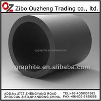 hot sale high density graphite melt crucible pot