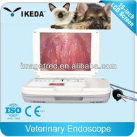 Veterinarian portable veterinary video gastroscope