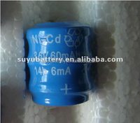 NICD button cell Battery 3.6V 60mAh