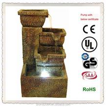 indoor resin pillar and pots European style fountain