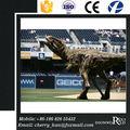 Parque amusemet Animatronic simulación realista transitable dinosaurio del traje