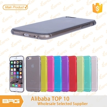 BRG Colourful Stylish Soft TPU Silicone Case Cover For iPhone 6S Mobile Phone Case