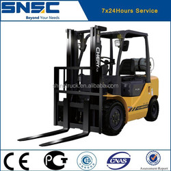 2.5t forklift truck price with nissan gasoline engine for sale