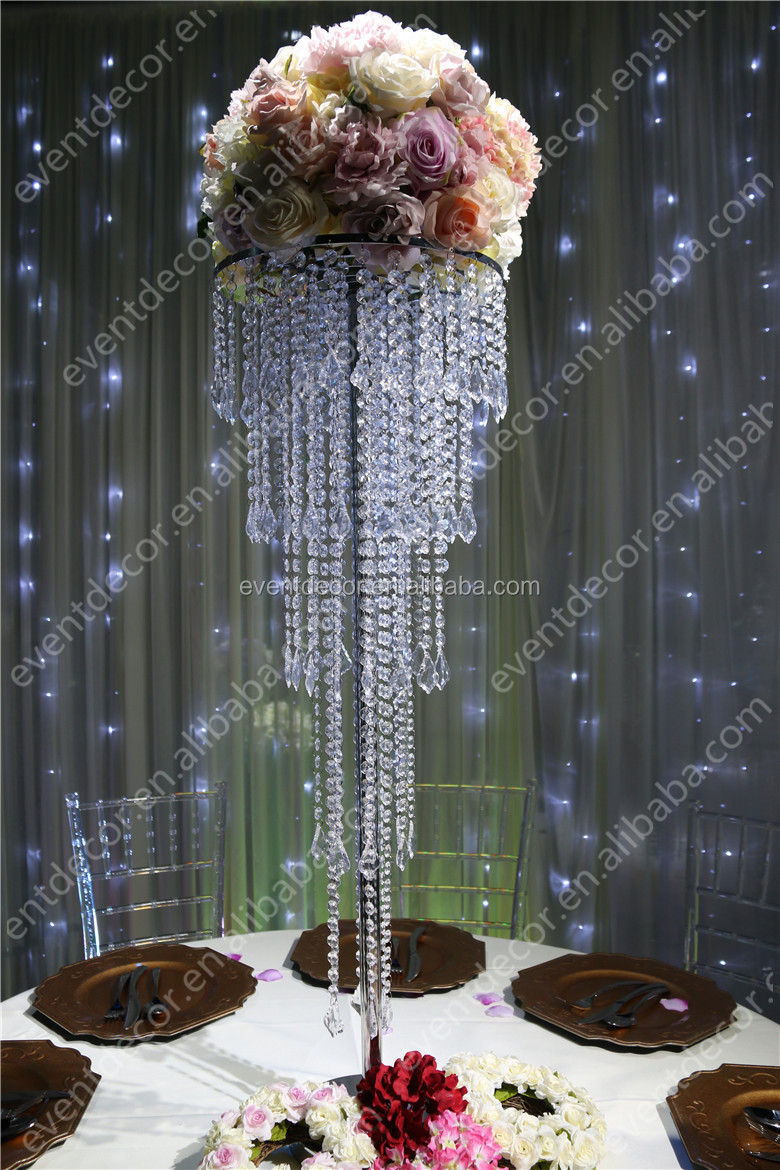 5 tiers crystal centerpieces for wedding tablewholesale crystal 15 5g junglespirit Choice Image