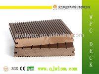 China wholesale solid wpc wooden vinyl recycled plastic lumber