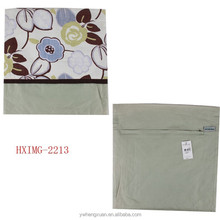 Fancy hot sale jacquard knitted pillowcase