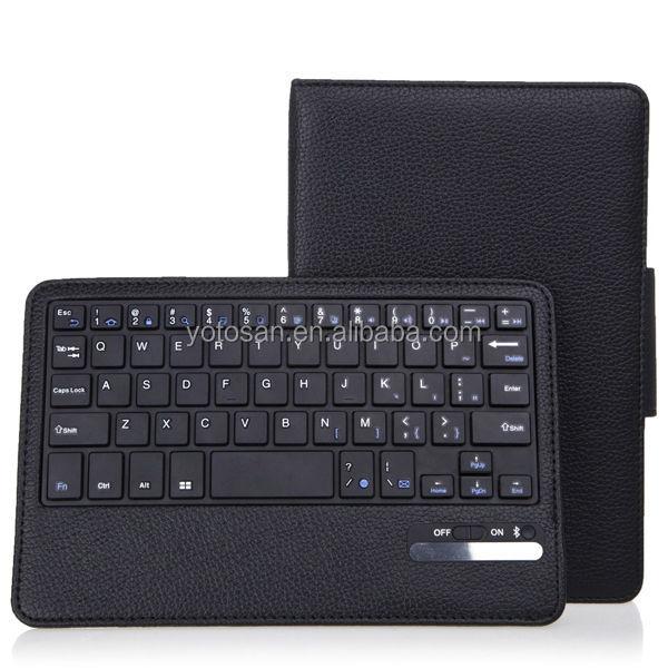 For Samsung Galaxy Tab 4 7.0 Inch Bluetooth Detachable Keyboard Stand Case