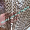 Freely Size Metal Chain Linked Brown Color Door Curtain