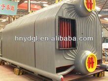 high combustion value hot water coal boiler 7MW