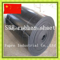 2015 Hot sales new black cheap industrial solid sbr rubber sheet