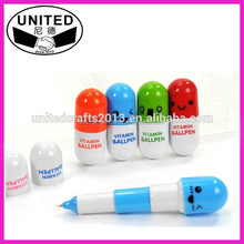 Cute Promotional vitamin ball pen
