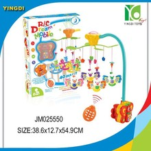 Remote control baby mobile bed bell projective baby musical mobile