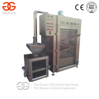 2015 Hot Selling Stainless Steel Meat Smokehouse Oven Smokeoven Smoker For Sausge Fish Beef