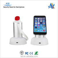 Retail security and display,cell phone anti-theft mobile display holders retail security alarm A32