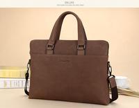 Sxllns matte genuine leather shoulder bag cowhide handbag for man