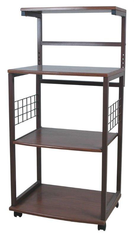 kd m tal rack support cuisine cuisine tag re avec. Black Bedroom Furniture Sets. Home Design Ideas