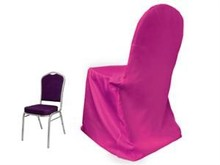 cheap polyester chair cover for hotel and restaurant