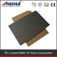 Alusign china aluminum sheets color roof plaque acp