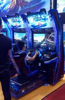 Storm Racer G car driving machine racing game machine