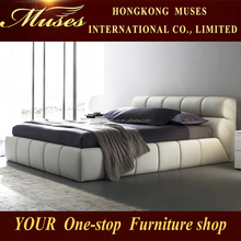 2015 new simple leather bed SY10051