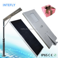 New garden solar lamp street with motion sensor working Intefly
