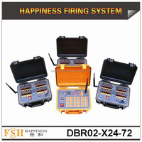 72 channels Salvo and Sequential (Rapid) firing system, 500 M Remote Control Fireworks Firing System, best seller (DBR02-X24/72)