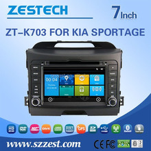 car stereo with 3G Wifi gps navigation mp5 player for kia sportage car stereo