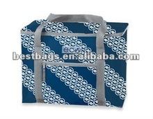 2013 plaid 420D Polyester Cooler Bag
