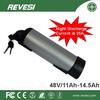 2015 hot selling li-ion 48v batteries for ebike battery
