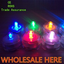 Event & Party Supplies Led Floating Tea Light,submersible led tea light