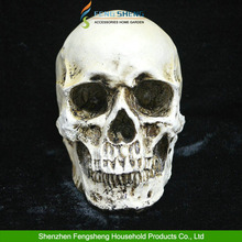 Halloween Props Horror Skull Model Resin skull Ornaments Spoof Trick Humanoid