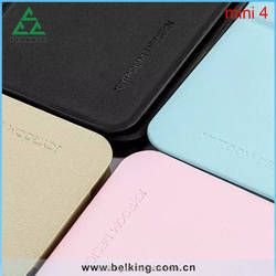 For ipad Mini 4 Arthur Series Dormancy Leather Case Shockproof Stand Holder Case For iPad Mini 4
