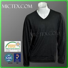 Camiseta de manga larga para hombre EKO-TEX100