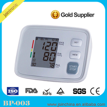 Fully automatic Rechargebal Digital Blood Pressure Monitor With Adaptor,ambulatory blood pressure equipment/instrument apparatus