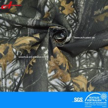 Camouflage printed polyester taslon fabric