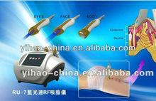 2012 Hotsell!!!RU+7 portable vacuum blue photon rf beauty device(Factory)