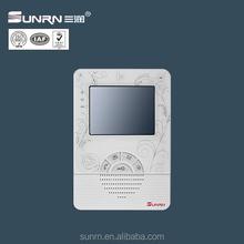 "4.3"" TFT apartment color video door phone intercom system doorbell home security camera monitor"