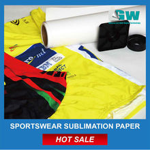 100g 1620mm high release fast dry dye sublimation transfer paper roll for fabric Factroy supplier