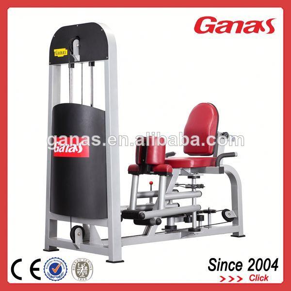comercial interno y externo del aductor del muslo de máquinas de fitness para gimnasio