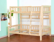 prison double bed, wood prison bed, heavy duty bunk bed for labour