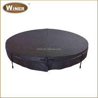 Hot selling plastic waterproof durable round spa covers