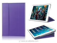 New designed Super slim leather case for iPad air 2 ,Smart leather Case For iPad 6