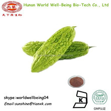 Dry Bitter Gourd Fruit Extract Powder /Fresh Momordica Charantia Seeds P.E. /Organic Bitter Melon Powder for Sale