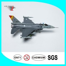 Alloy Diecast plane model F16A Fighter Model with 1:72 Scale