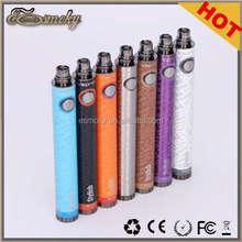 510/eGo Ecigarette Variable Voltage Battery Stylish 1300mah Spinner Twist Battery 100% Original Vision