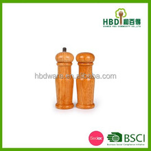 2015 best selling products of China Manual wood salt and pepper grinder