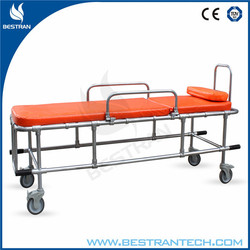 China BT-TA010 Medical Equipment For MRI Movable Non-magnetic stretcher bed patient stretcher for sale